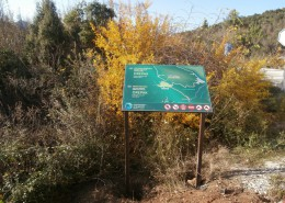 Informativne ploče u zaštićenim područjima Neretve