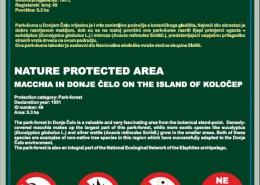 Makija u Donjem Čelu na otoku Koločepu