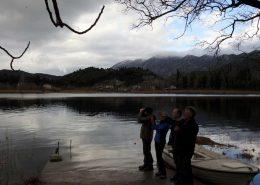 Prebrojavanje na Baćinskim jezerima