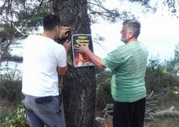 postavljanje znakova zabrane paljenja vatre