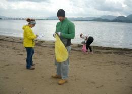 Monitoring morskog otpada na ušću Neretve