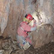 Traženje faune u Jami u Prvac dolu, foto Natalija Sudar