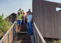 Obilazak promatračnice za ptice na brdu Galičak